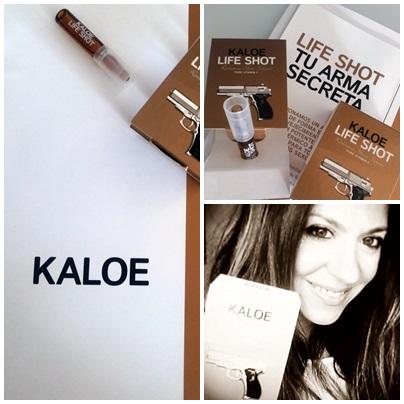 Kaloe Life Shot ampollas Cosmética Responsable by Lina Molero