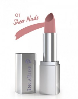 Sheer Nude Plump Rich Lips Inca Rose